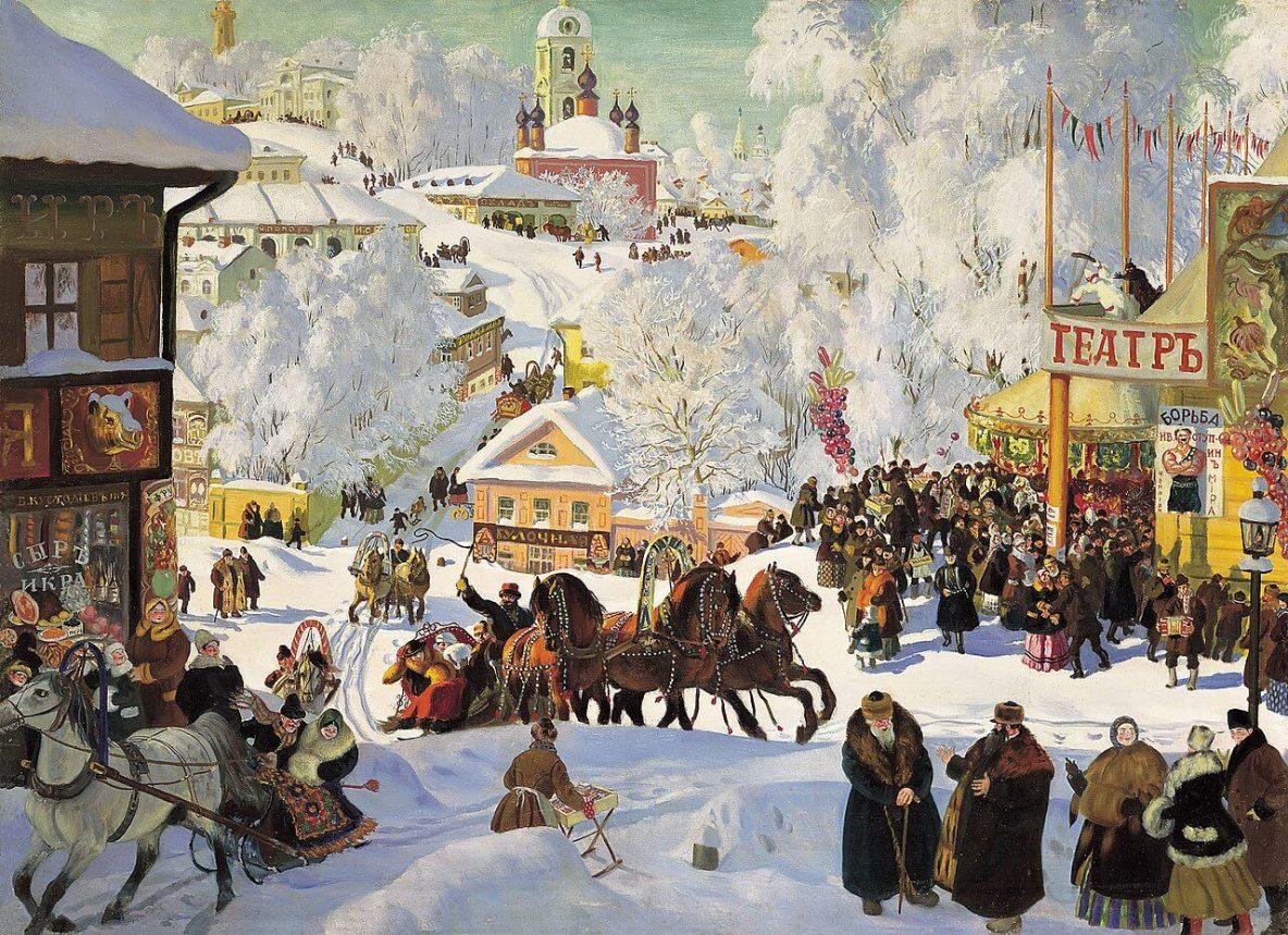Kustodiev Maslenitsa