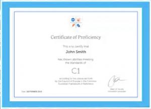 Certificate RussianPod101